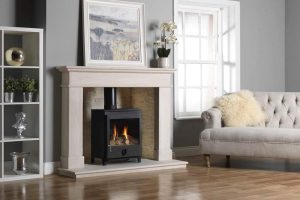Paragon Gas Stove in Balmoral Gold Quartz Liners Main copy