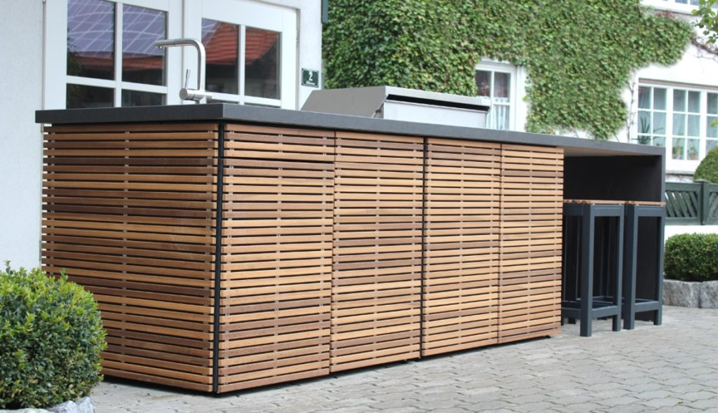 Cubic Outdoor Kitchen